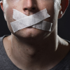 free speech tape mouth