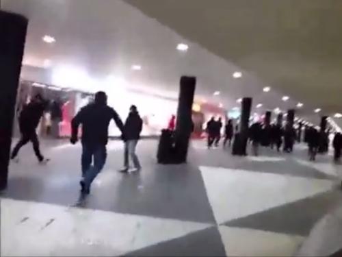 stockholm mob attack
