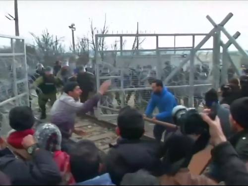 refugee battering ram