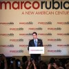 U.S. Florida Senator Marco Rubio announces he is running for President in the 2016 elections on Monday April 13, 2015, at the Freedom Tower in Miami, Florida.  Photo by Cristian Lazzari