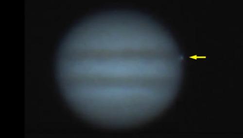 Jupiter hit
