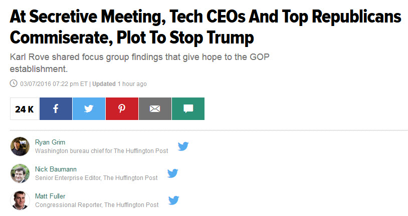 huffpotrumptechmeeting