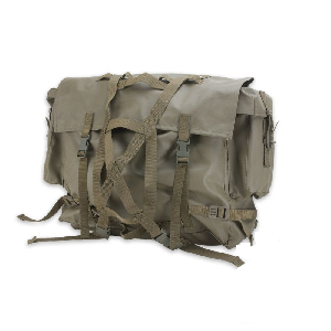 rubberized rucksack