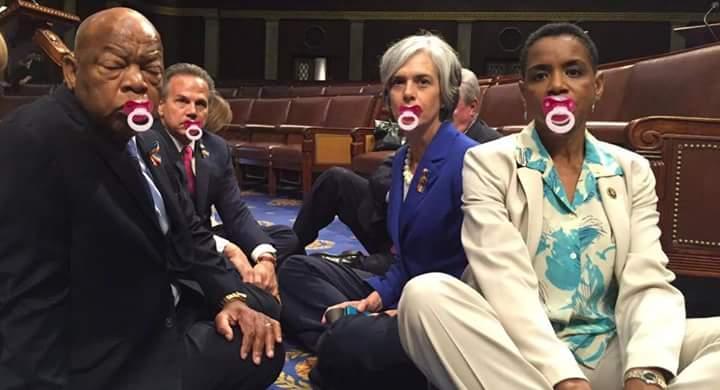 Image result for democrats having temper tantrum