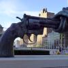 non-violence sculpture gun control wikimedia