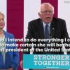 Bernie endorses Hillary