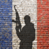 french flag terrorism civil war