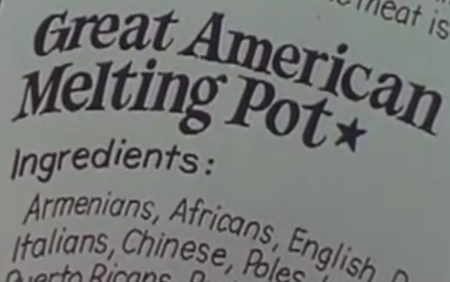 america being a melting pot essay