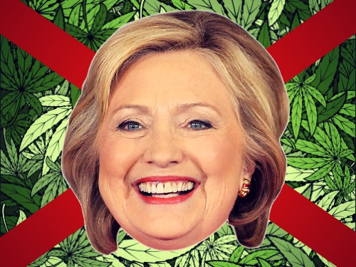 hillary-no-marijuana-legalization