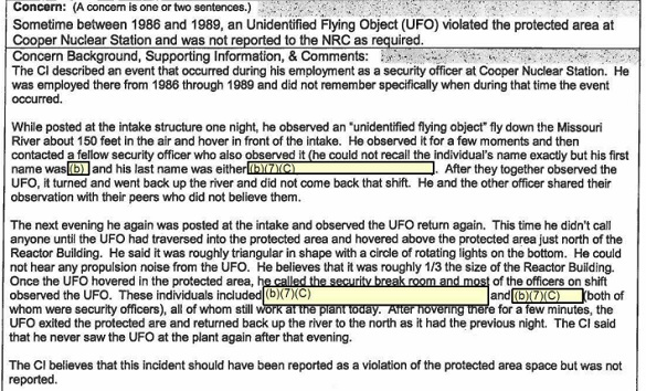 Copper-UFO-Report
