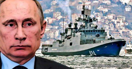 Russia frigate Putin