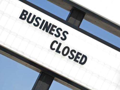 how to close down your business