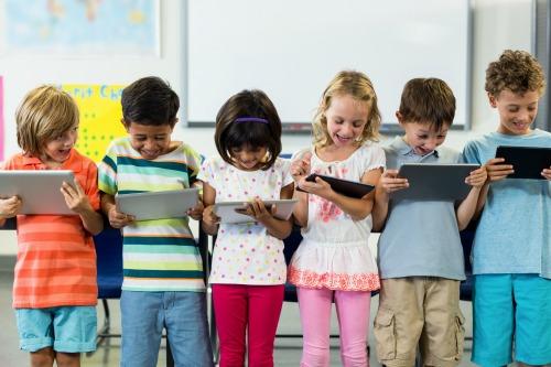 children computers school