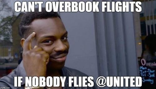 united overbook