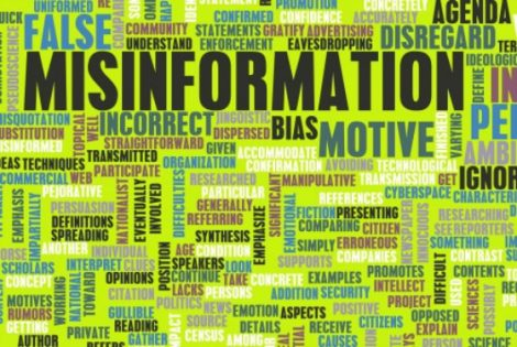 misinformation disinfo media lies bias