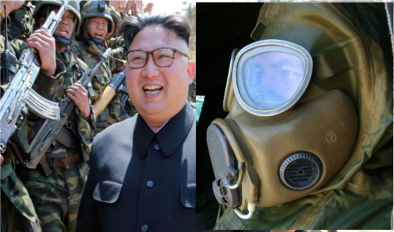 north korea chemical warfare