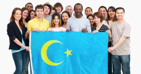 Islamic style flag