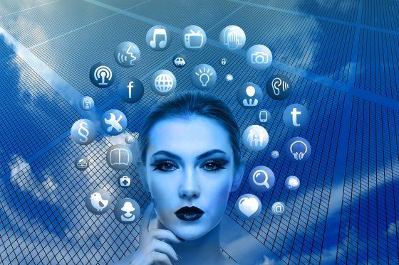 Woman-Google-Facebook-Twitter-Public-Domain