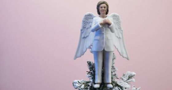 Hillary tree topper