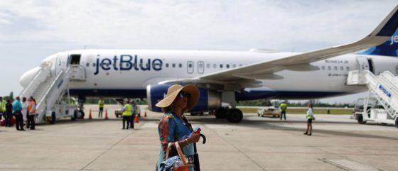 Jet Blue Plane