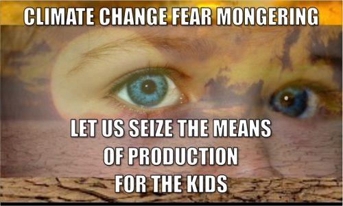climate change fearmongering