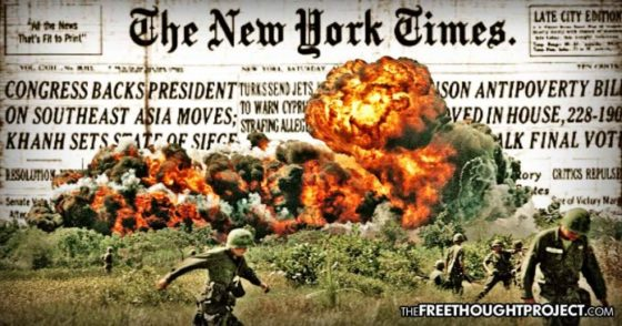 54 Years Ago Today, Gov't and Media Created & Spread 'Fake News' to Start the Vietnam War