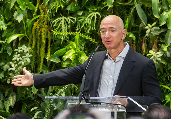 Report Discloses How The National Enquirer Got Its Hands On Jeff Bezos' Racy Text Messages